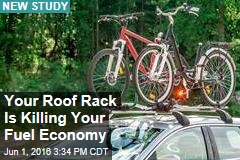 Your Roof Rack Is Killing Your Fuel Economy