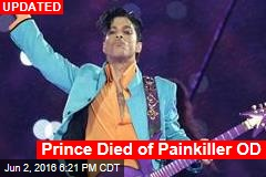 Prince Died of Opioid OD