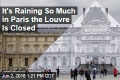Louvre Shutters to Save Art in Paris Flood Fear