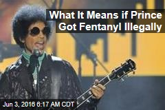What It Means if Prince Got Fentanyl Illegally
