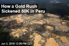 How a Gold Rush Sickened 50K in Peru