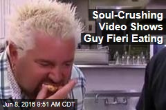 Soul-Crushing Video Shows Guy Fieri Eating