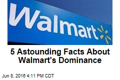 5 Astounding Facts About Walmart's Dominance