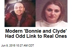 Modern 'Bonnie and Clyde' Had Odd Link to Real Ones