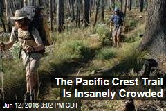 The Pacific Crest Trail Is Insanely Crowded