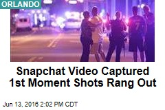 Snapchat Video Captured 1st Moment Shots Rang Out