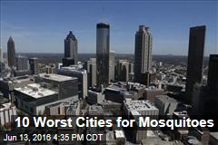 10 Worst Cities for Mosquitoes