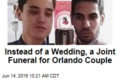 Instead of a Wedding, a Joint Funeral for Orlando Couple