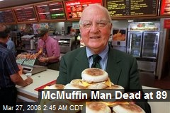 McMuffin Man Dead at 89