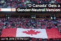'O Canada' Gets a Gender-Neutral Version