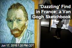 'Dazzling' Find in France: a Van Gogh Sketchbook