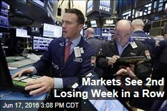 Markets See 2nd Losing Week in a Row