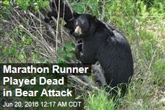 Bear Attacks Marathon Runner