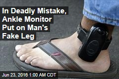 Cops: Man Kills After Ditching Ankle Monitor by Removing Fake Leg