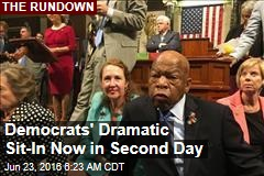 Democrats Say Dramatic Sit-In Was a Success