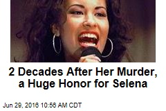 2 Decades After Her Murder, a Huge Honor for Selena