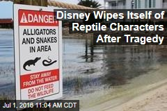 Disney Wipes Itself of Reptile Characters After Tragedy