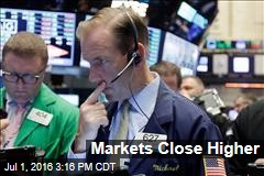 Markets Close Higher