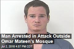 Man Arrested in Attack Outside Omar Mateen's Mosque