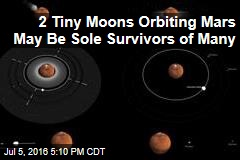 2 Tiny Moons Orbiting Mars May Be Sole Survivors of Many