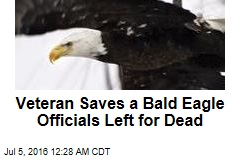 With 150 Shots, Army Vet Rescues Eagle
