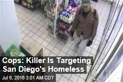 Cops: Killer Is Targeting San Diego's Homeless
