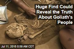 Archaeological Find Could Tell the Story of the Philistines