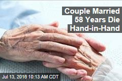 Couple Married 58 Years Die Hand-in-Hand