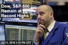 Dow, S&P 500 Remain at Record Highs