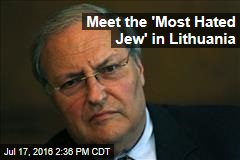 Meet the 'Most Hated Jew' in Lithuania