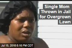 Single Mom Thrown in Jail for Overgrown Lawn