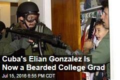 Cuba's Elian Gonzalez Is Now a Bearded College Grad