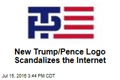 New Trump/Pence Logo Scandalizes the Internet