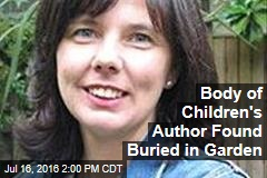 Body of Children's Author Found Buried in Garden