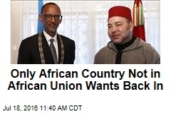 Only African Country Not in African Union Wants Back In