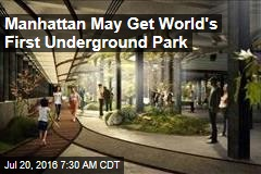 Manhattan May Get World's First Underground Park
