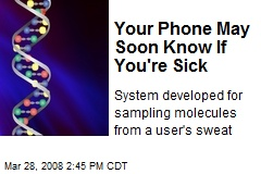 Your Phone May Soon Know If You're Sick