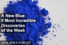 A New Blue: 5 Most Incredible Discoveries of the Week