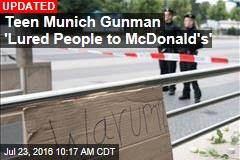 Teen Munich Gunman 'Lured People to Mall'