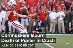 University of Nebraska Mourns Death of Punter in Crash