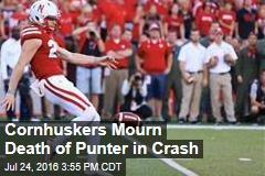 University of Nebraska Mourns Death of Punter in Crash