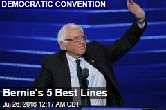 Bernie's 5 Best Lines