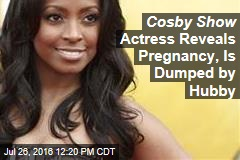 Cosby Show Actress Dumped by Hubby Days After Announcing Pregnancy