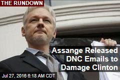 Assange Released DNC Emails to Damage Clinton