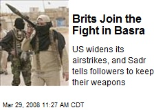 Brits Join the Fight in Basra