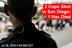 2 Cops Shot in San Diego; 1 Has Died