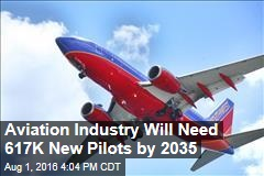 Aviation Industry Will Need 617,000 New pilots by 2035
