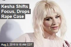Kesha Shifts Focus, Drops Rape Case