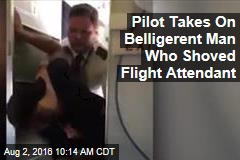 Pilot Takes On Belligerent Man Who Shoved Flight Attendant