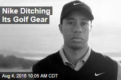 Nike Ditching Its Golf Gear